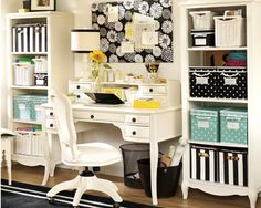 one dayy sooonn ill have a pretty work space<3