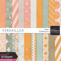 Versailles Papers Kit