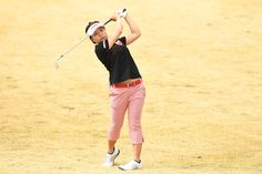 Pei-Ying Tsai Photos Photos - Pei-Ying Tsai of Taiwan hits her second shot on the 4th hole during the second round of the Studio Alice Open at the Hanayashiki Golf Club Yokawa Course on April 8, 2017 in Miki, Japan. - Studio Alice Ladies Open - Day 2