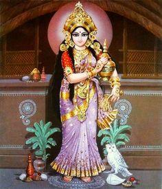 Akshaya Tritiya 2020 is the perfect time to experience wealth showers. So, let's make use of Akshaya Tritiya 2020 to perform rituals for never-ending riches. Shiva Hindu, Shiva Shakti, Hindu Deities, Hindu Art, Saraswati Goddess, Mother Goddess, Goddess Lakshmi, Divine Goddess, Durga Images