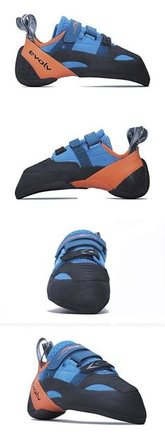 Women 158979: Evolv Shaman Climbing Shoe - Blue Orange 10.5 -> BUY IT NOW ONLY: $178.54 on eBay!