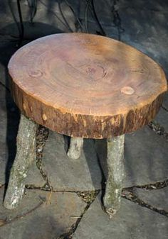 Making Outdoor Log Furniture is Quick and Easy
