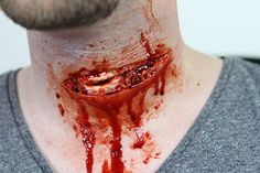 READ ME: This video is very similar to Realistic Slit Throat Tutorial Part 2: Filling the Moulds. The only difference is this tutorial uses the Cut Throat #2...