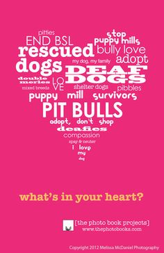 What's in your heart - dog poster