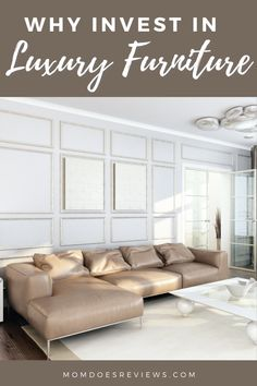 Why You Should Invest in Luxury Furniture for Your Los Angeles Home Affordable Furniture, New Furniture, Luxury Furniture, Los Angeles Homes, High Quality Furniture, Furniture Manufacturers, Home Look, Home And Living, Decorating Your Home