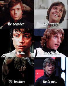 Mark Hamill Luke Skywalker, Star Wars Luke Skywalker, Anakin Vader, Star Wars Episode Iv, Star Wars Film, Bad Feeling, Star Wars Humor, Love Stars, Obi Wan