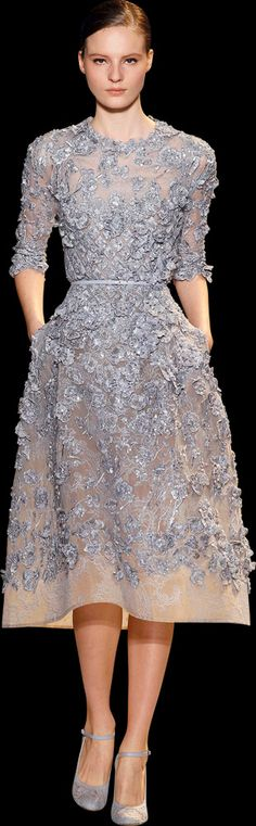 All clothing should be made by Elie Saab (reminds me of the wedding dress I started, based on a Valentino design).