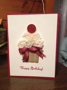 Birthday card for my best friend. Made at Bonnie mountfords stamp class