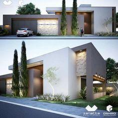 """504 curtidas, 13 comentários - Arquiteto - T. (67) 99836 7066 (@ricardooshiro) no Instagram: """"Zanatta e Oshiro arquitetura - residência em Dourados/MS - Jardim Mônaco. #architectureporn…"""""""