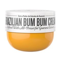 Toning & Firming Cream  How exactly do Brazilians look so good all the time? Maybe it's this firming cream, which uses caffeine and local guaraná to tighten those hard-to-tone glutes. If Gisele uses it, that's enough for me.  // Sol de Janerio, $50