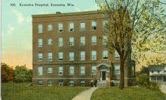The original KenoshaHospital...