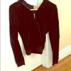 medium Terri-cloth juicy zip up medium Terri-cloth juicy zip up, hardly ever worn Juicy Couture Jackets & Coats