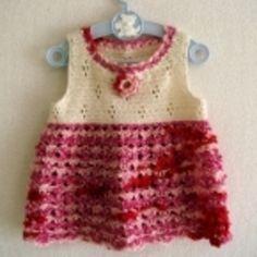 お花畑のあったかチュニック(80〜90)の作り方|編み物|編み物・手芸・ソーイング|アトリエ