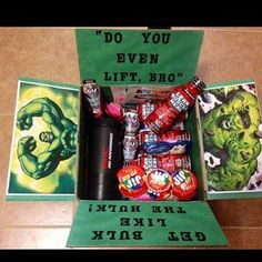 "The ""Hulk Up"" Care Package 