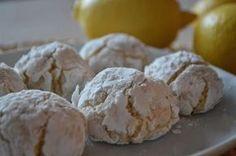 Kokosovo citronové crinkles
