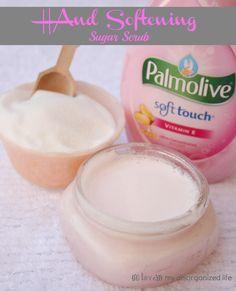 DIY Hand Softening Sugar Scrub