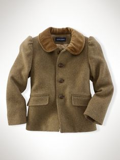 Girls Military Coats