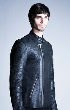 Leather Jacket from the LaMarque Fall/Winter 2014 Men's Collection #leather #menswear #lamarquecollection #fw14