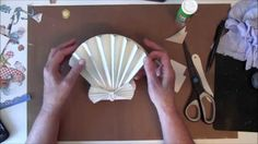 How to make a 3D Sea Shell Easel card with G45 By The Sea Paper collection