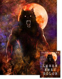 Moonkiller Werewolf Premade Book Cover by Viergacht