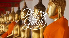 Bangkok in one minute travel video. Read our full review of Bangkok on our travel blog http://www.philandgarth.com