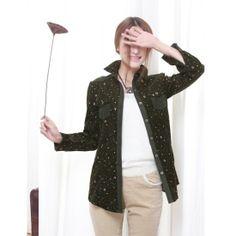 Long Sleeve Sport Blouse Floral Pocket YRB2109