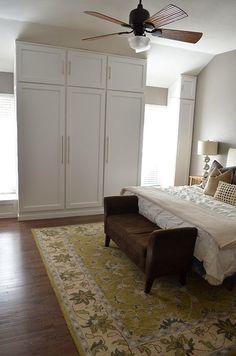 DIY Custom Closet Built-In Wardrobe using @IKEA drawers and pant racks