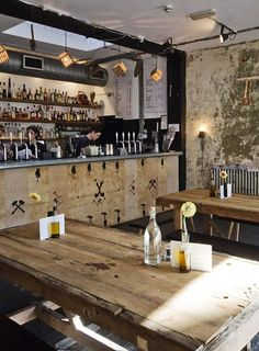 London Design Festival: Pub interior built by East London Furniture with nothing but scrap materials found on local streets
