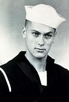 A 17 year old Tony Curtis. Navy Reserves 1942-45 WW II.