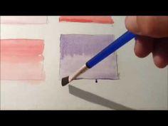 2º ejercicio preliminar a la acuarela para principiantes - YouTube