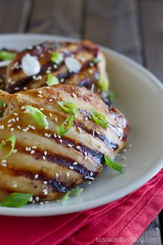 Honey Soy Chicken -