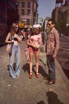 70s street scene, Taxi Driver