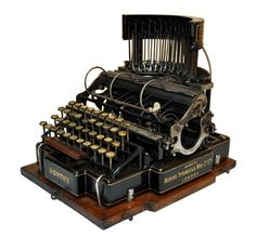 NORTH´S Typewriter Circa 1882 | Collectors Weekly