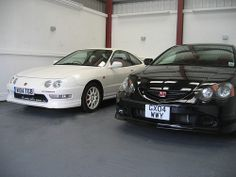Honda Integra DC2 & DC5 Type R by Steve Coulter Performance Cars.