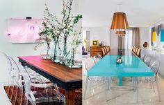 Pergunta da leitora: posso usar cadeiras diferentes da mesa?