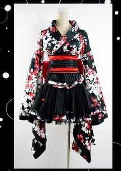 Kimono inspired fashion