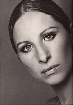 """Barbra Streisand  """"The"""" face of ALL faces."""