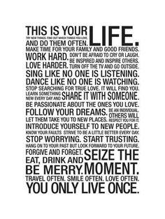Art Print: This Is Your Life : 16x12in