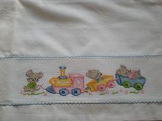 Risultati immagini per Carmen Bordados Bebes Cross Stitch Designs, Cross Stitch Patterns, Monochrome Photo, Bambi Disney, Minnie Baby, Creating Positive Energy, Any Book, Diy Embroidery, Fun Activities