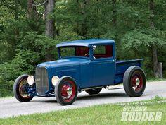 0903sr 01 Z+1931 Ford Pickup+front Driver Side