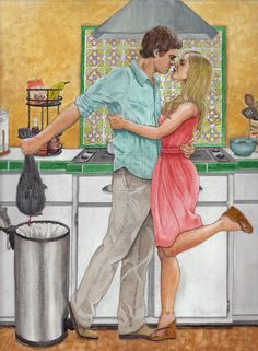 Dexter Morgan Fan Art | Dexter and Rita Morgan or Something to Hide by ~ christinestanyon