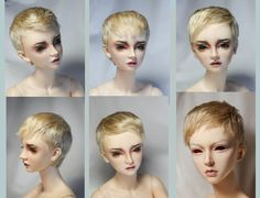 "https://flic.kr/p/qQTwGu | Angora mohair wig commission | Angora mohair wig 8-9"" ""golden blonde"""