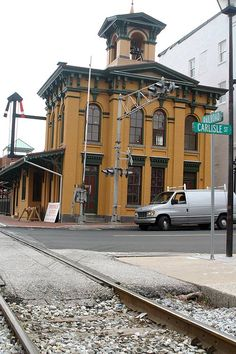 Restored Gettysburg Train Station- the station Lincoln arrived at before making The Gettysburg Address