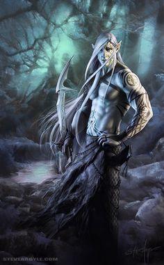 Elven Rogue by SteveArgyle.deviantart.com on @deviantART