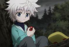 Imagem de killua, anime, and hunter x hunter Killua, Hisoka, Hunter Anime, Hunter X Hunter, Dark Hunter, Anime Kawaii, Anime Gifs, Anime Art, Zoldyck