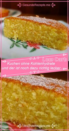 Kuchen ohne Kohlenhydrate – und der ist noch dazu richtig lecker - Low Carb RezepteCake without carbohydrates - and it's really tasty too - GesundeRezepte. Easy Vanilla Cake Recipe, Chocolate Cake Recipe Easy, Chocolate Cookie Recipes, Peanut Butter Cookie Recipe, Easy Cookie Recipes, Cake Recipes, Law Carb, Low Carb Desserts, Food Cakes