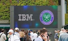 IBM has been the official technology partner of Wimbledon since 1990. Introducing new advances to the championship including the visionary website www.wimbledon.org in 1990 to post-match analysis DVDs to players, the newest landmark move is the introduction of IBM SlamTracker. Follow the link for further details.
