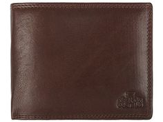 Cascade Chestnut Leather Tri-Fold Wallet  Pure Luxuries