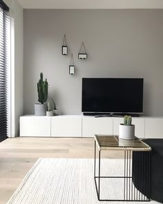 Discover recipes, home ideas, style inspiration and other ideas to try. Small Living Room Design, Living Room Tv, Home And Living, Living Room Designs, Modern Living, Living Room Inspiration, Home Decor Inspiration, Cheap Home Decor, Home Interior Design
