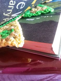 Crochet bookmarks from CrochetBTW. Crochet patterns available FREE from my blog.